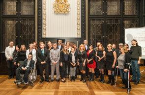 Nominovaní a finalisté soutěže Zdravotně postižený zaměstnanec roku 2015.