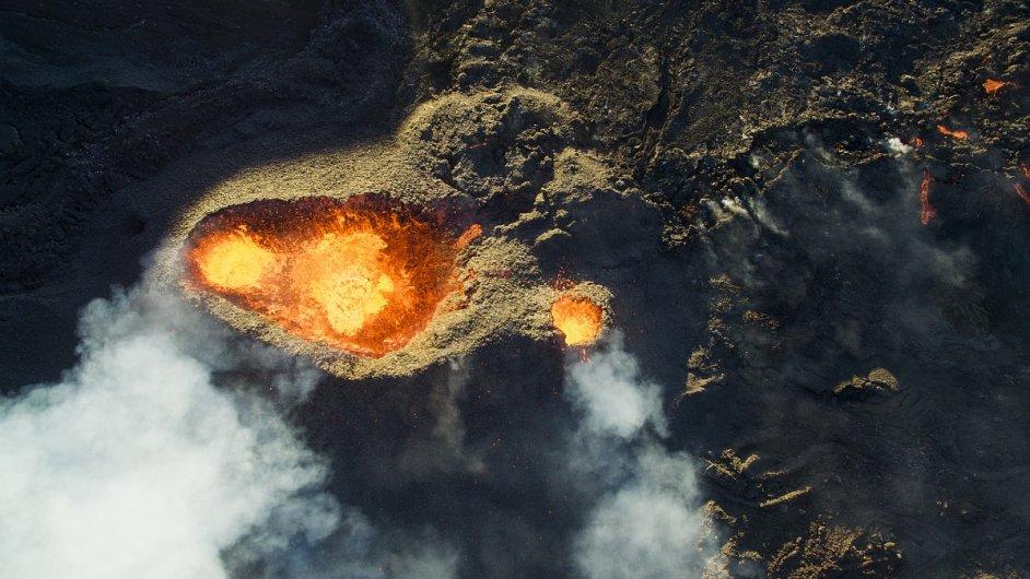 3. místo v kategorii Příroda/Zvířata - Oko vulkánu, Réunion