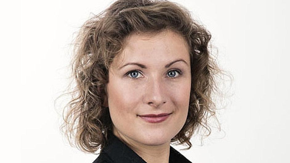 Nikola Šeligová, tisková mluvčí společnosti Arriva