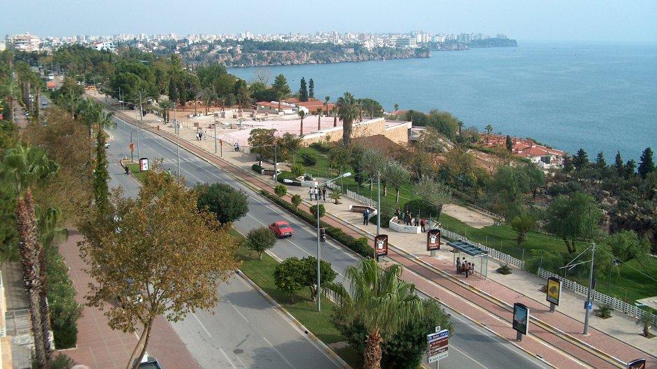 Antalya Konyaalti street