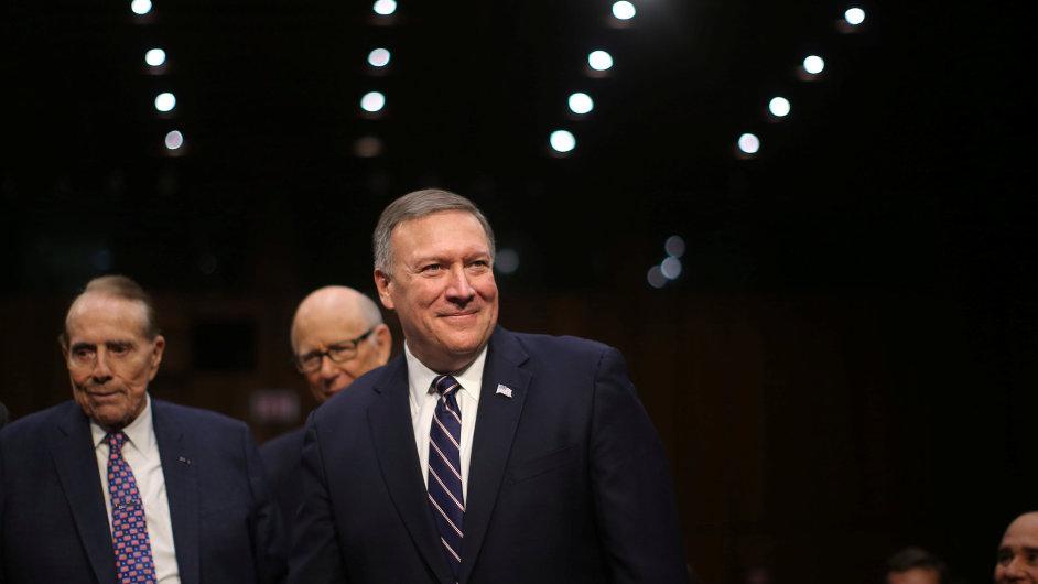 Nový šéf CIA Mike Pompeo.