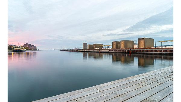 Kvaesthus Pier, Kodaň, Dánsko