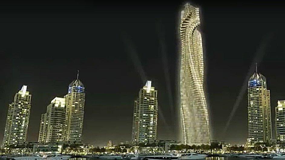 Otáčející se mrakodrap.