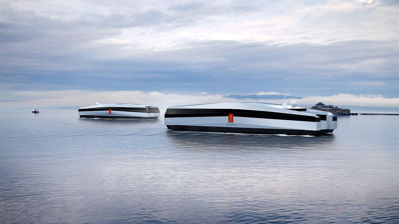 Tak by mohly vypadat bezpilotní lodě v budoucnosti