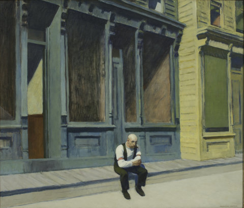Edward Hopper: Sunday, 1926