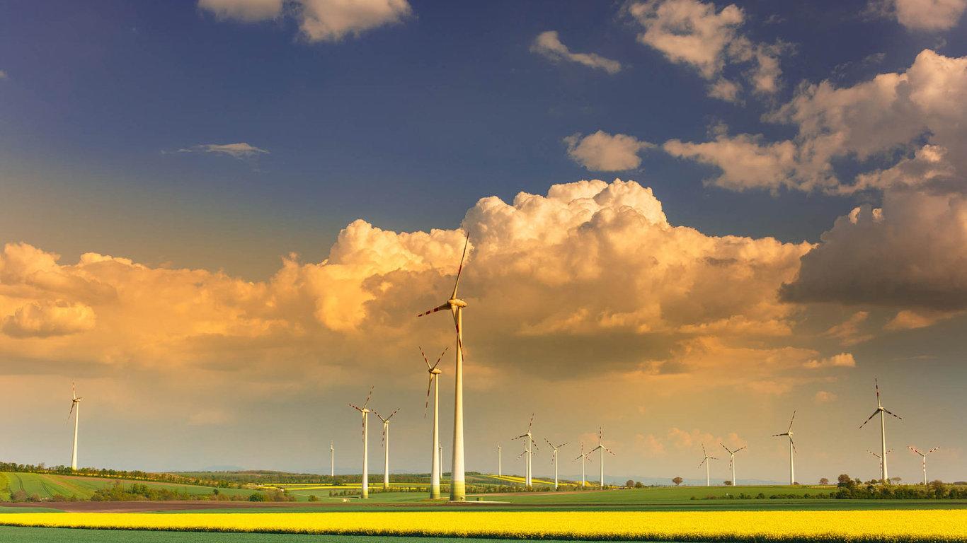 ČEZ pokračuje veskupování větrných elektráren poEvropě - Ilustrační foto.
