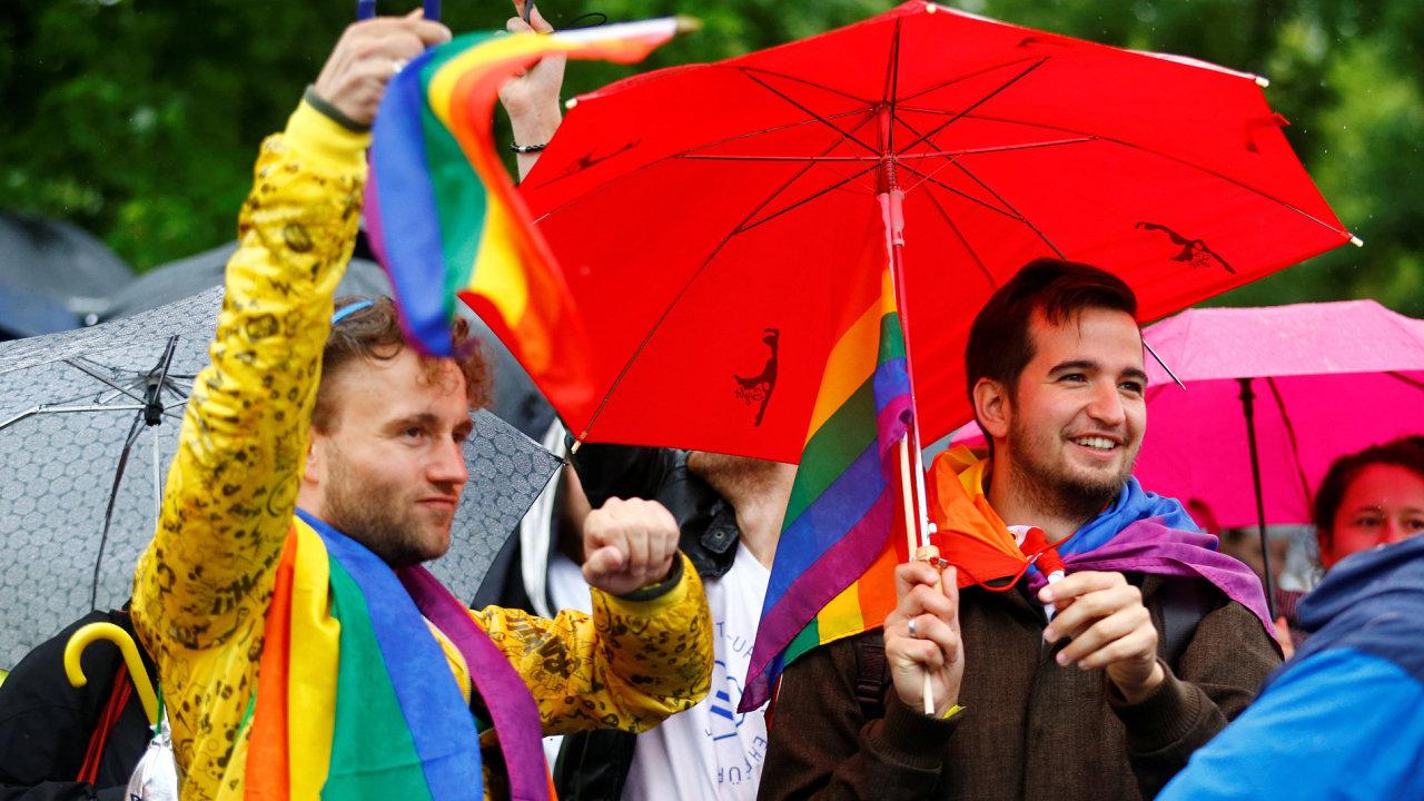 Německo, homosexuálové, manželství