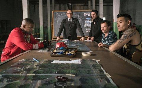 Snímek z filmu Baby Driver