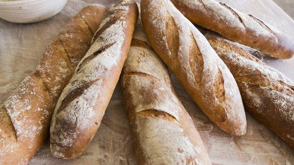 Bagety pekařství Petite France
