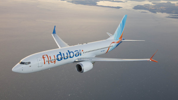 Aerolinky FlyDubai koupí 175 letadel Boeing.