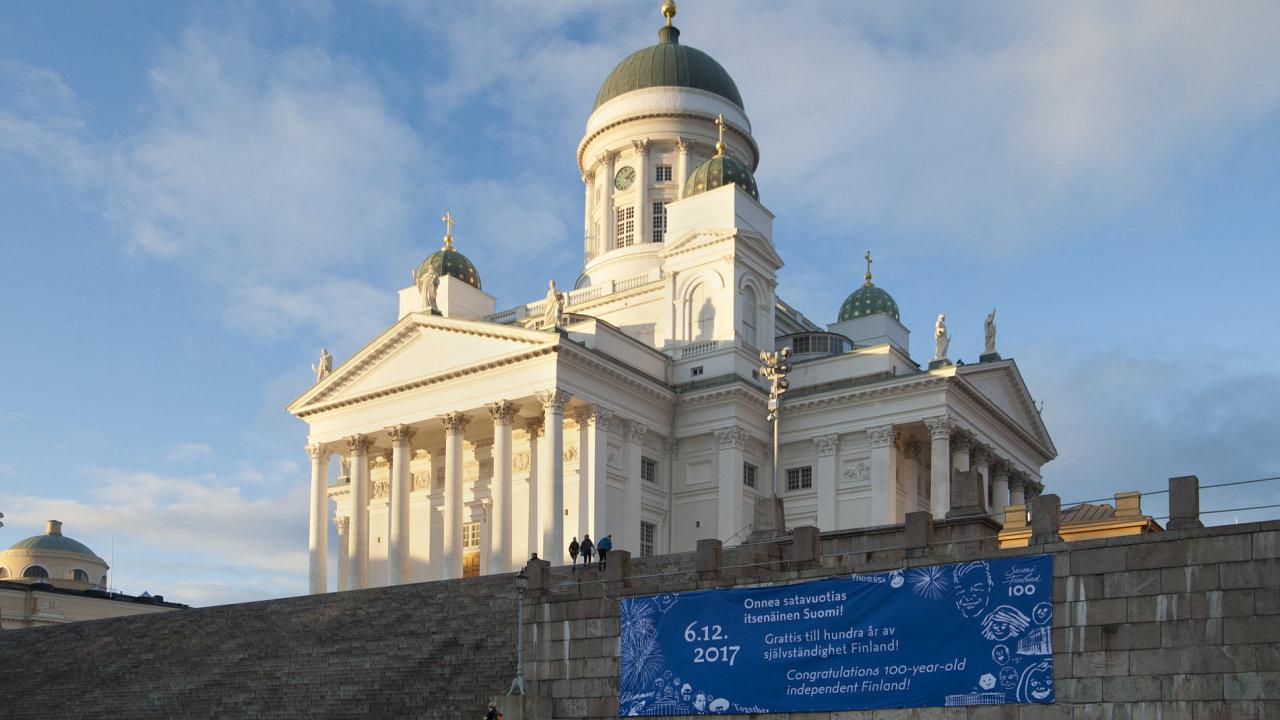 Samostatné Finsko: Hrdá severská země Finsko slaví 100 let své nezávislosti.