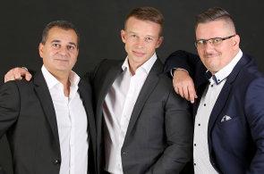 Eduard Forejt, Petr Žalský a Tewfik Sabongui, partneři v realitně-poradenské společnosti THREESIXTY