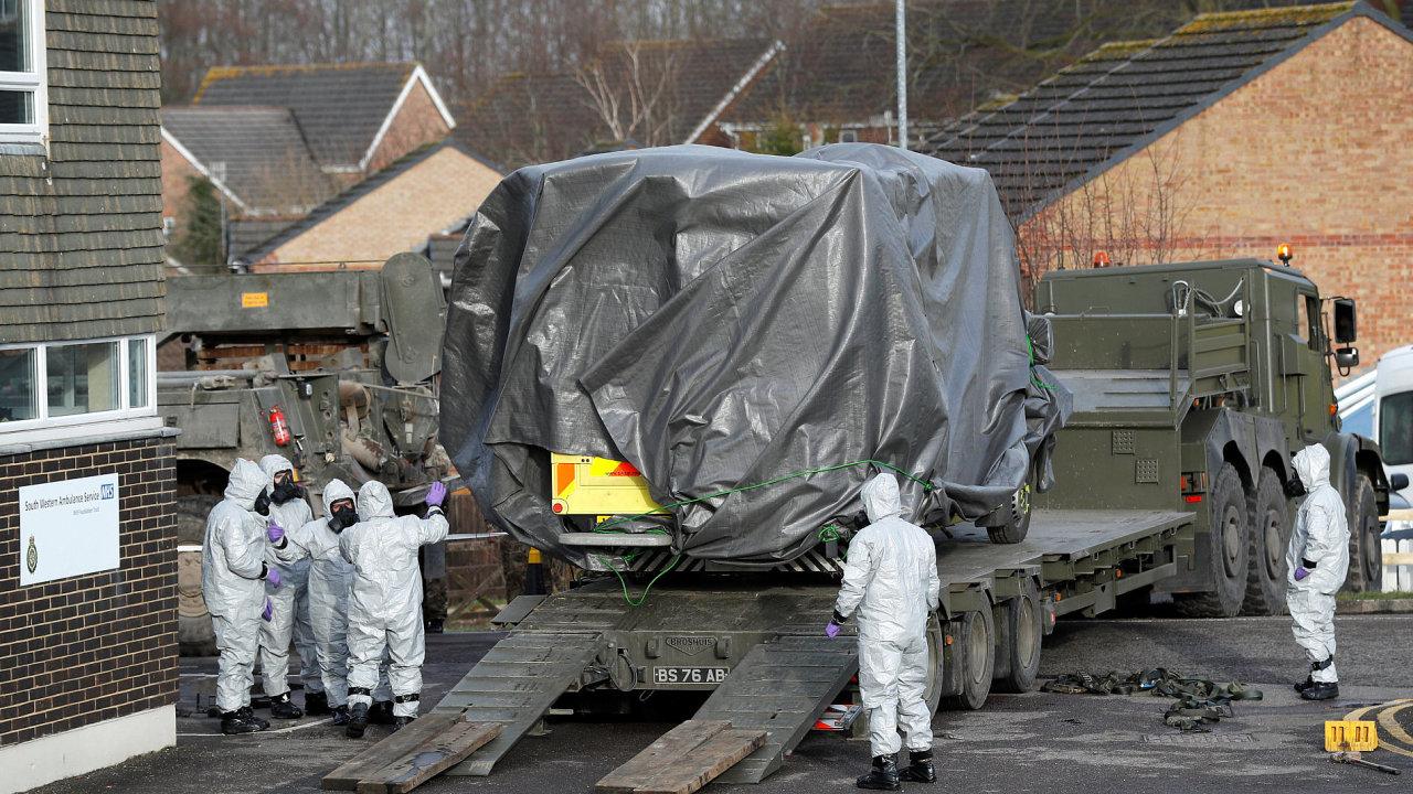 Británie Anglie Rusko agent plyn armáda