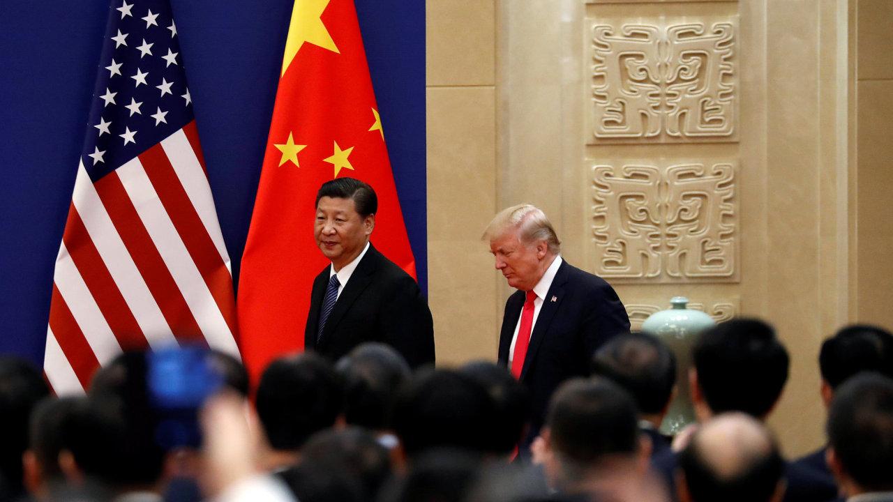 Donald Trump, Si Ťin-pching, USA, Čína