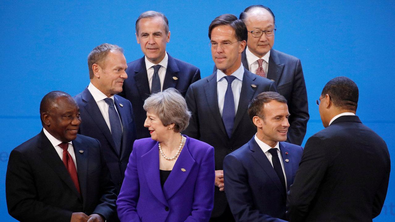 Světoví státníci na summitu G20 v Buenos Aires.