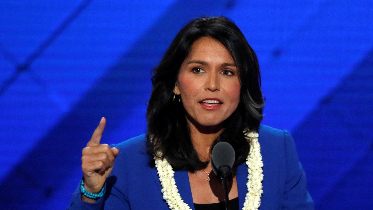 Demokratka Tulsi Gabbardová oznámila kandidaturu na amerického prezidenta.