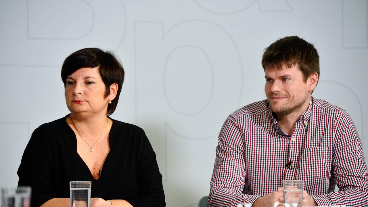 Diskuse Hospodářských novin okvalitě potravin se zúčastnili Jan Maryška, Dana Gabrovská, Jitka Götzová (na fotografii) aJaroslav Havlík (na fotografii).