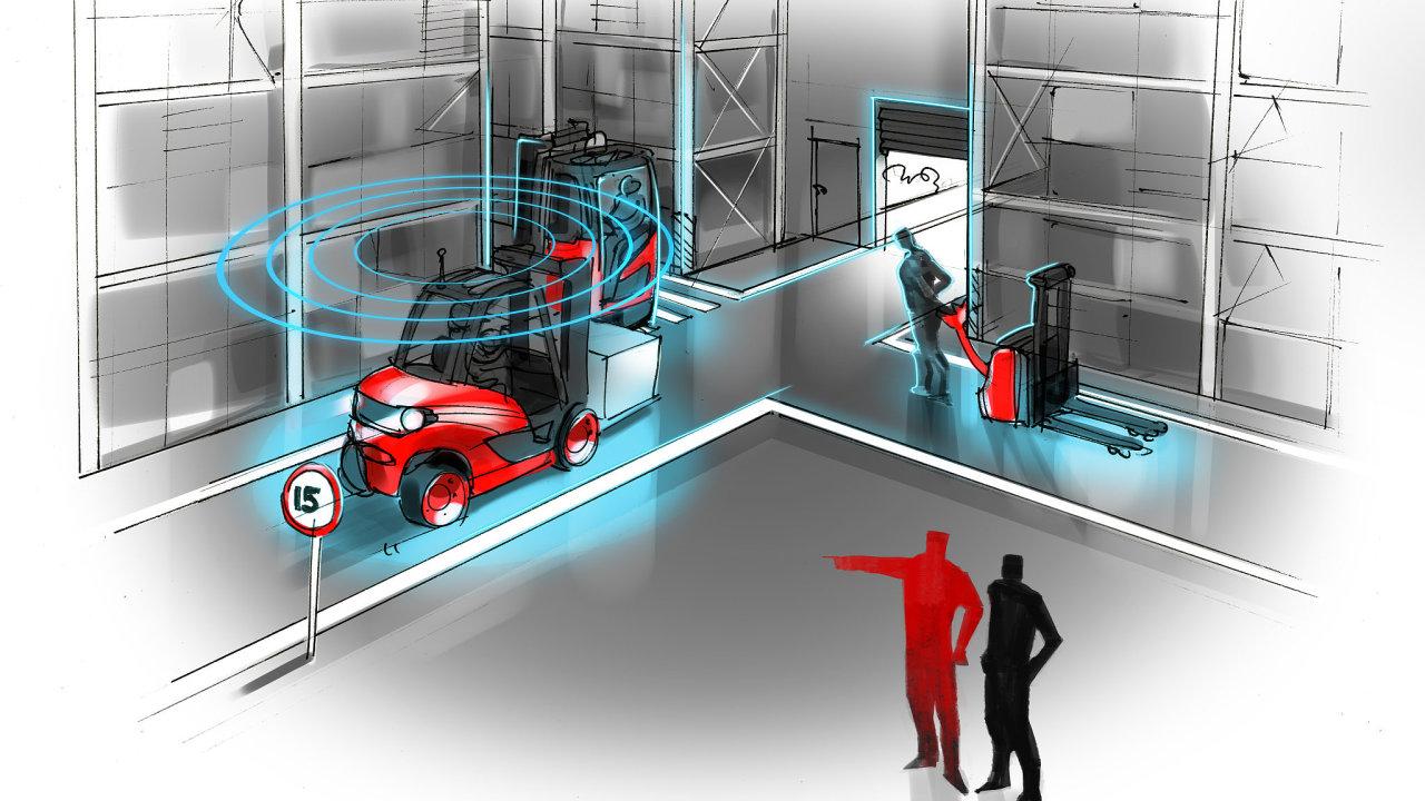 Fleet management Connect zahrnuje nový bezpečnostní modul Inteligentní zóna.