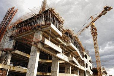 Největší podíl zahájených staveb bytových domů připadal na Prahu s 43,2 procenta - Ilustrační foto.
