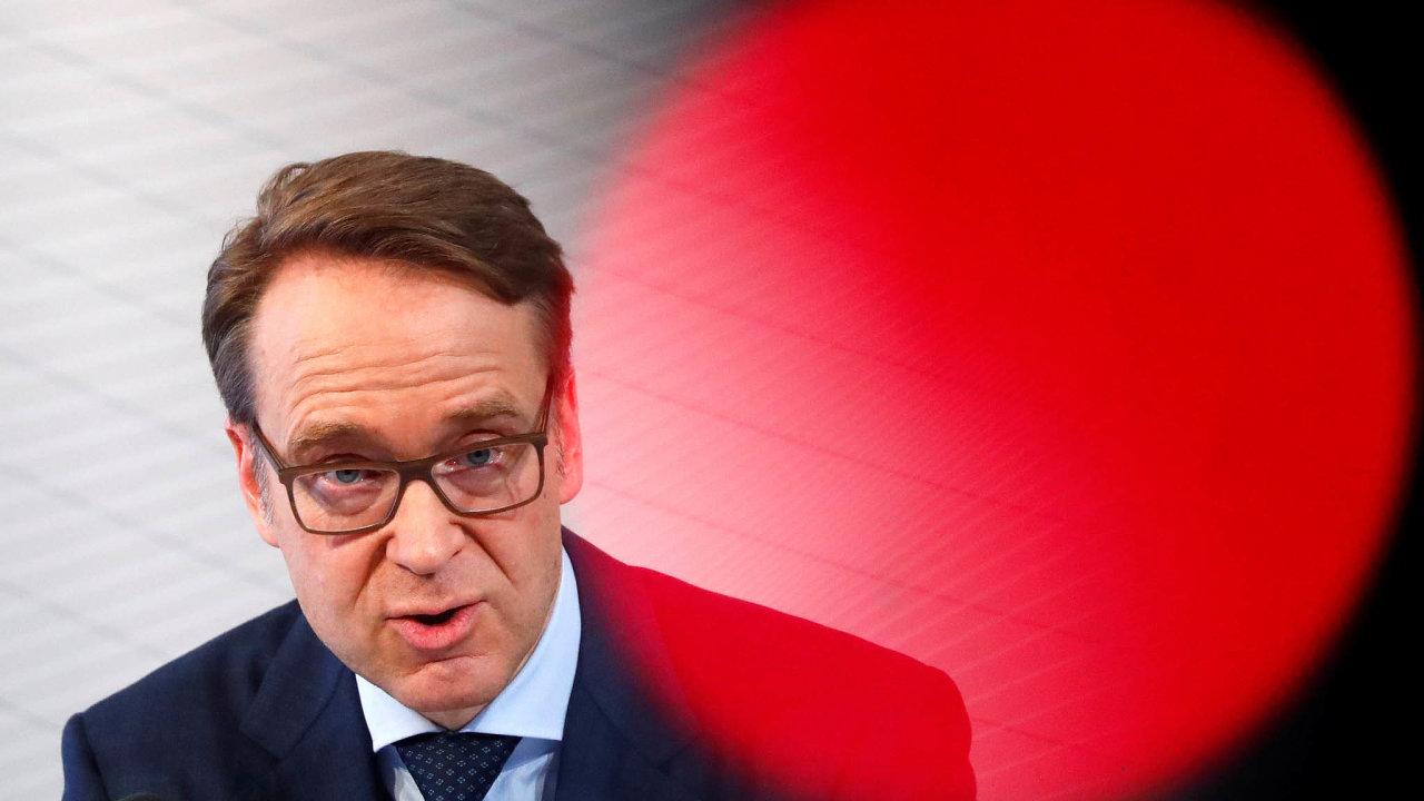 Šéf Německé spolkové banky Jens Weidmann je vážným kandidátem na post prezidenta Evropské centrální banky.