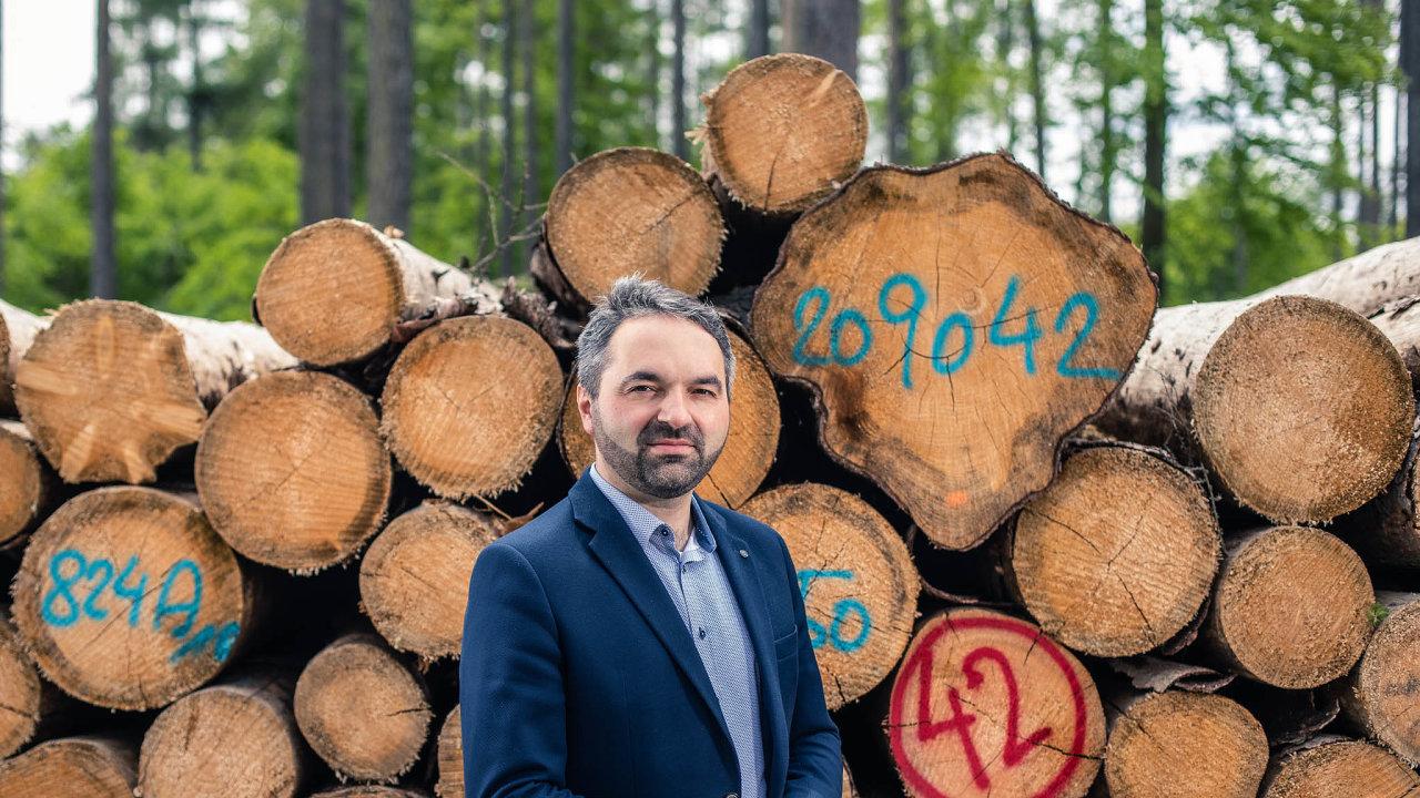 Tomáš Pařík, ředitel Wood & Paper