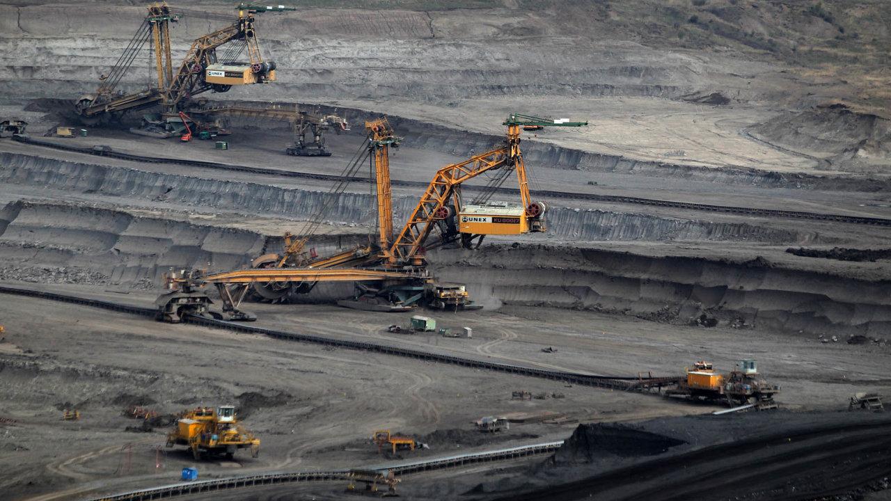 Hnědého uhlí se loni na severu Čech vytěžilo přes 39 milionů tun, což byl meziročně jen mírný pokles. Do budoucna by ale mohla těžba klesat výrazněji.
