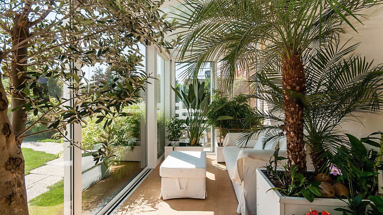 Idnes je zimní zahradapro určité zákazníkyzáležitostí prestiže, pro dalšíale především rozšířením obytného prostoru.