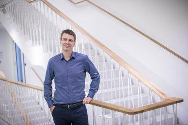Zainkubátor expertů nainvestice dozačínajících technologických firem označují mladí podnikatelé Jan Krahulík (na snímku) aMichal Ciffra svůj projekt Grouport.
