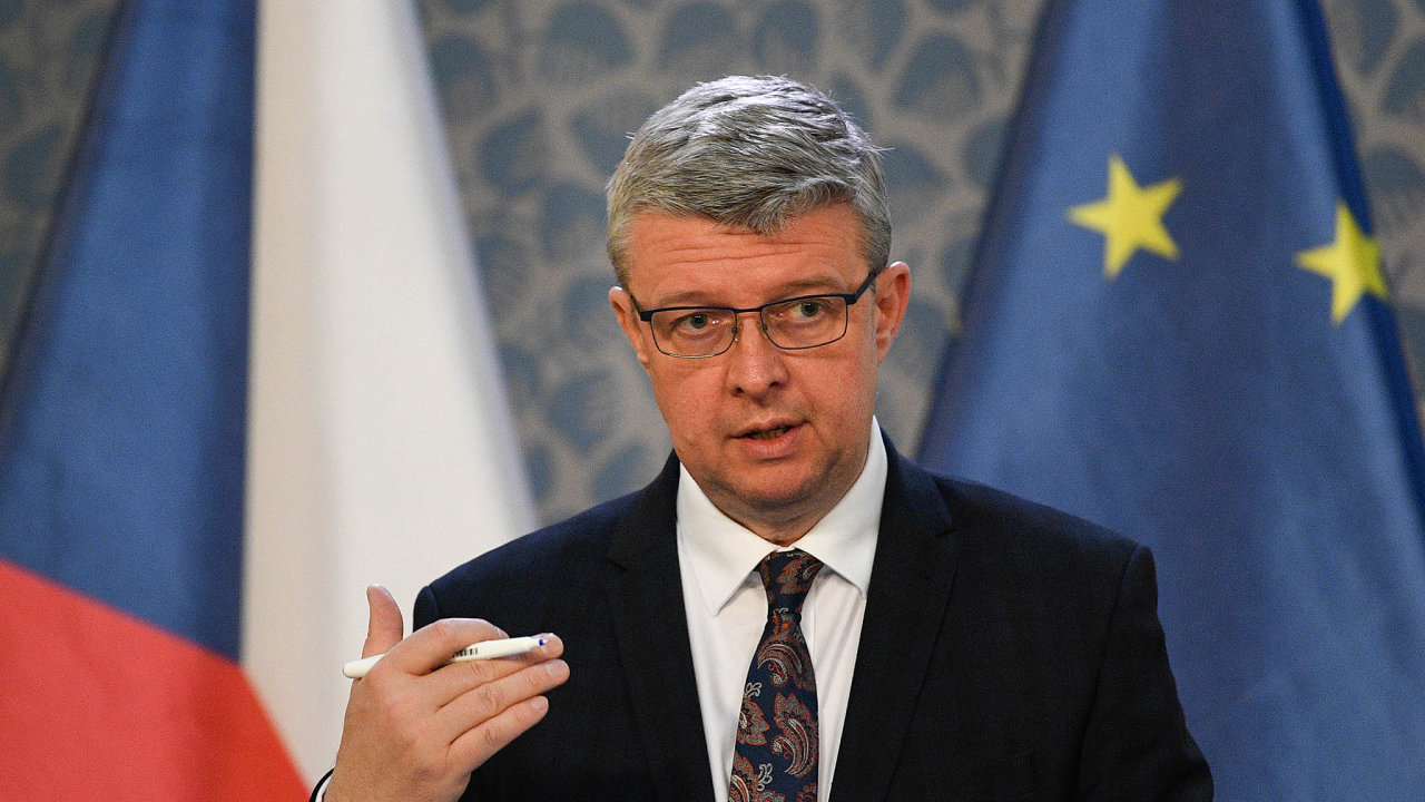 Ministr průmyslu aobchodu Karel Havlíček