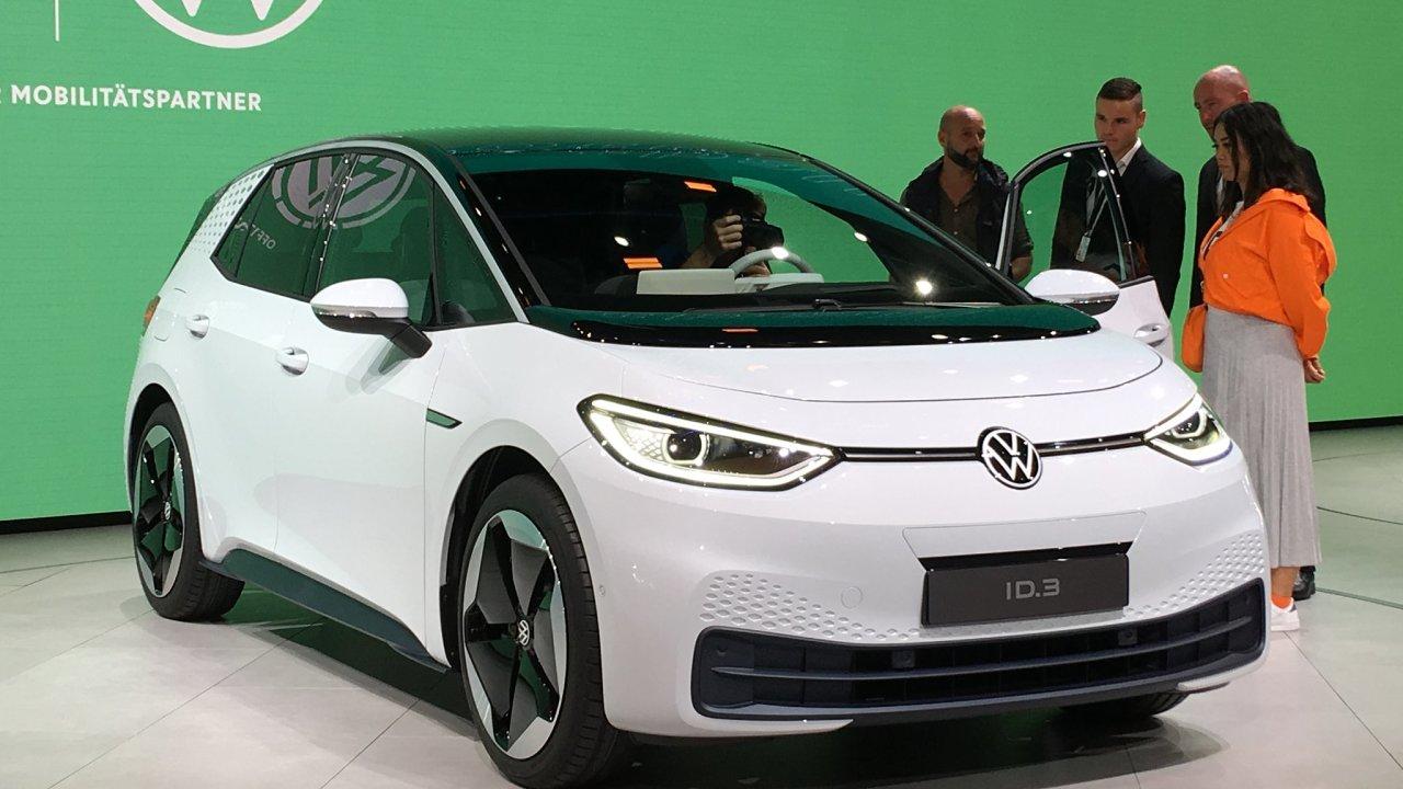 Volkswagen ID.3 Frankfurt autosalon