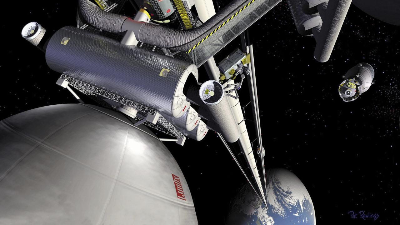 vesmírný výtah