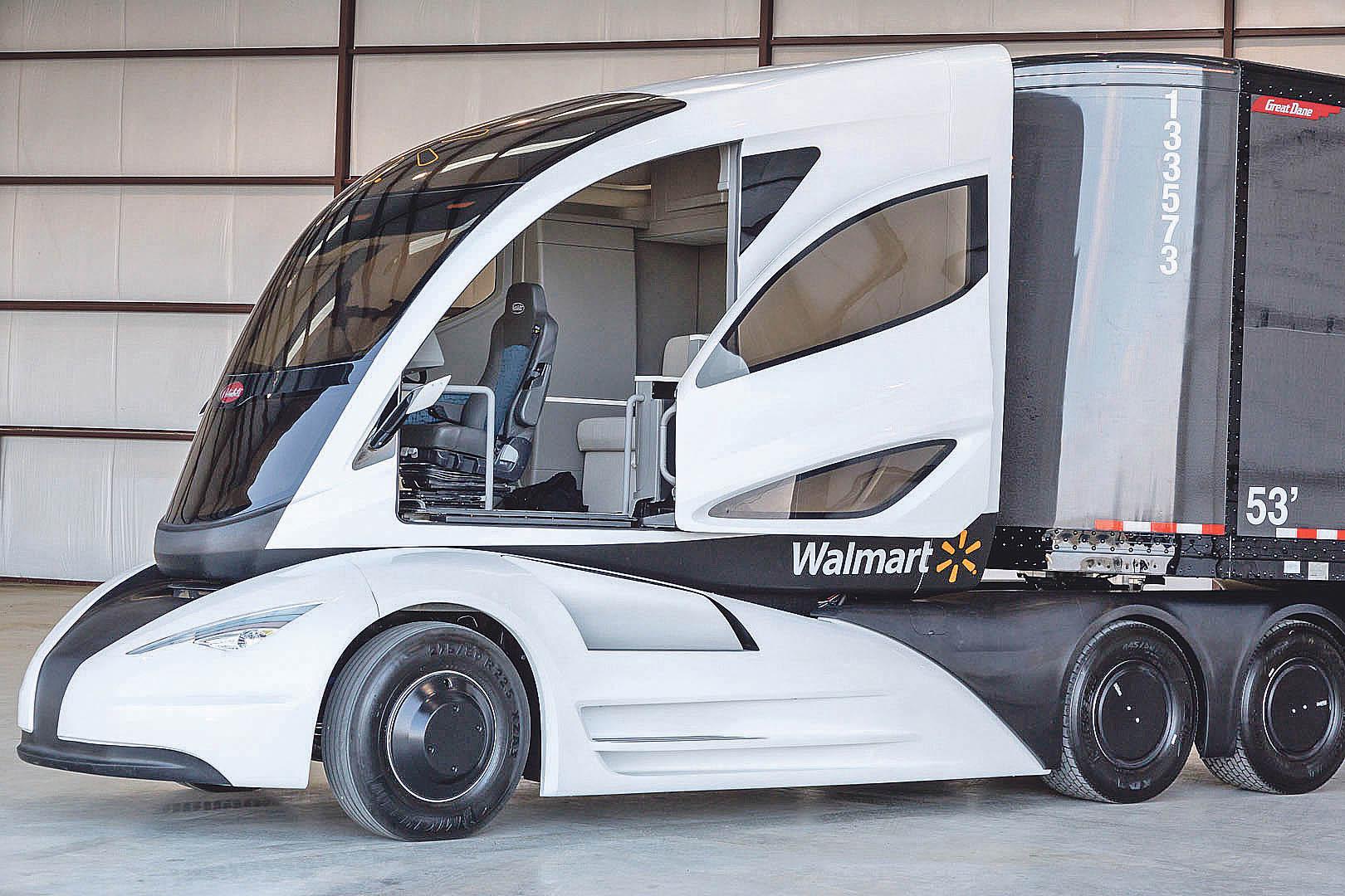 V roce 2014 Walmart veřejnosti představil vlastní projekt elektrického nákladního vozu s aerodynamickou kabinou vyrobenou z kompozitních materiálů.