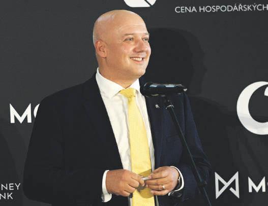 Pavel Isteník, jednatel společnosti Heinz-Glas Decor, Vodafone Firma roku 2020 Karlovarského kraje