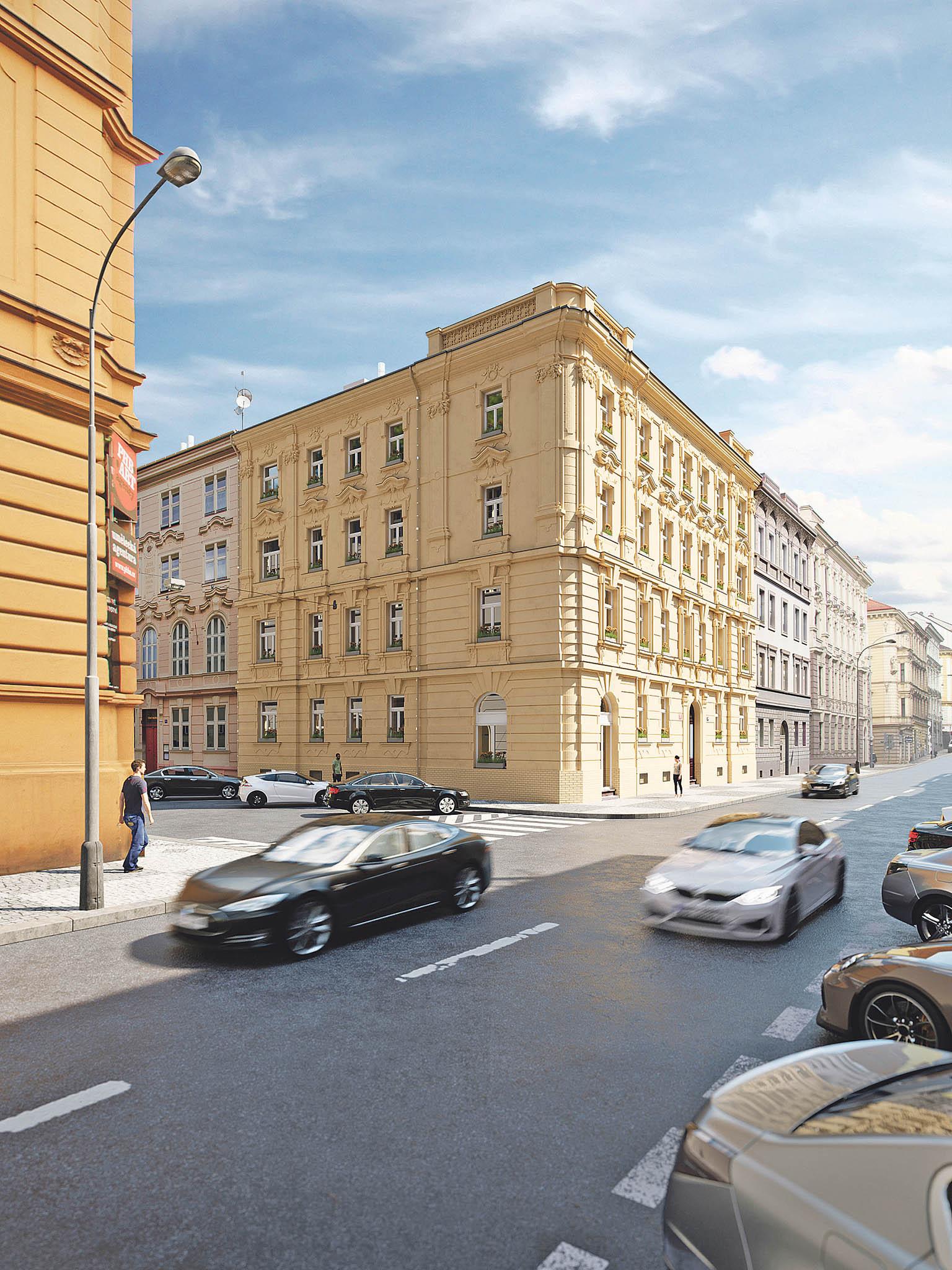 Nakompletnírekonstrukce domů určených pro nájemní bydlení se vPraze zaměřuje například Zeitgeist Asset Management.