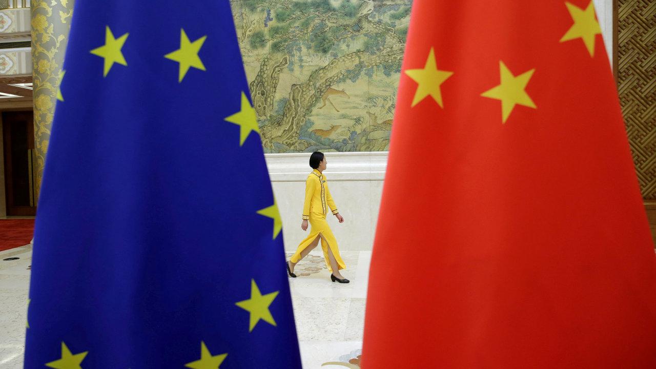 Čína, Evropská unie, EU