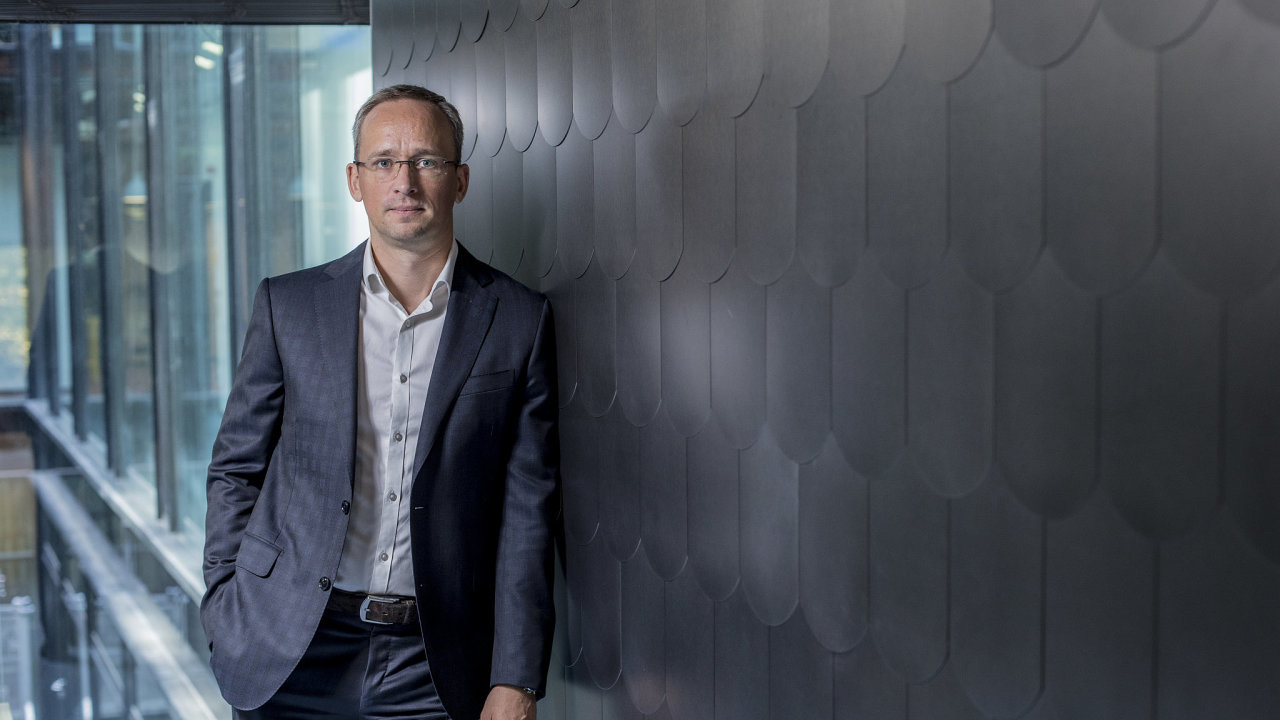 Michal Strcula, CEO Air Bank