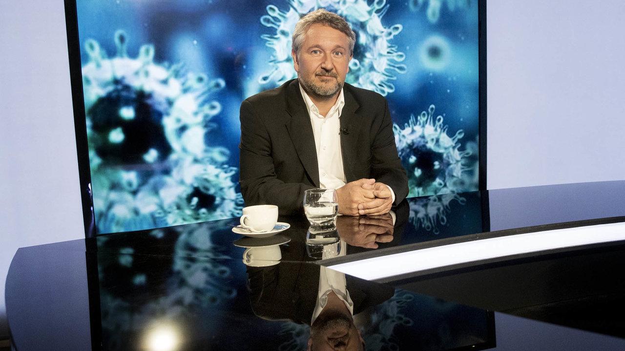 Epidemiolog Petr Smejkal, který vede skupinu MeSES.