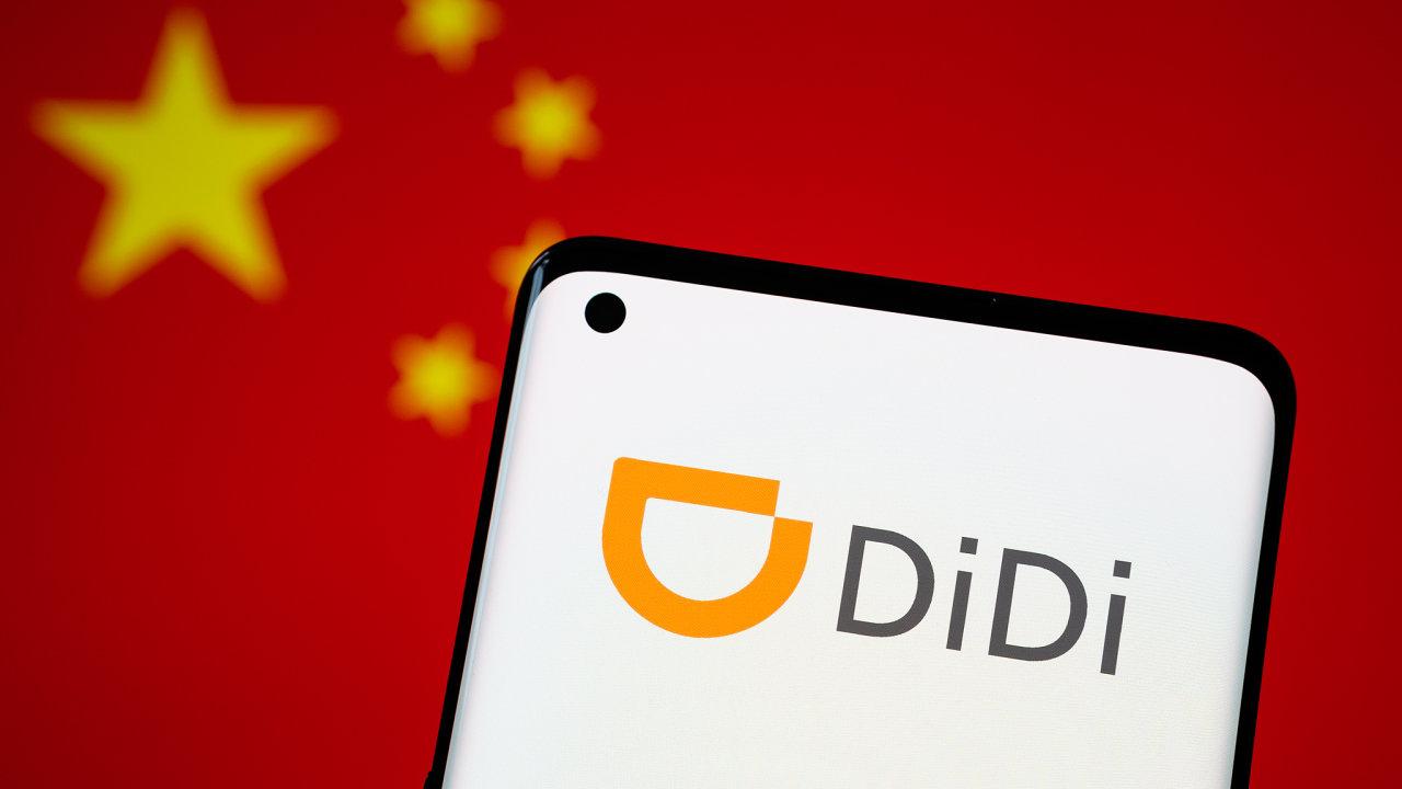 Didi Chuxing taxi (čínský ekvivalent UBER)