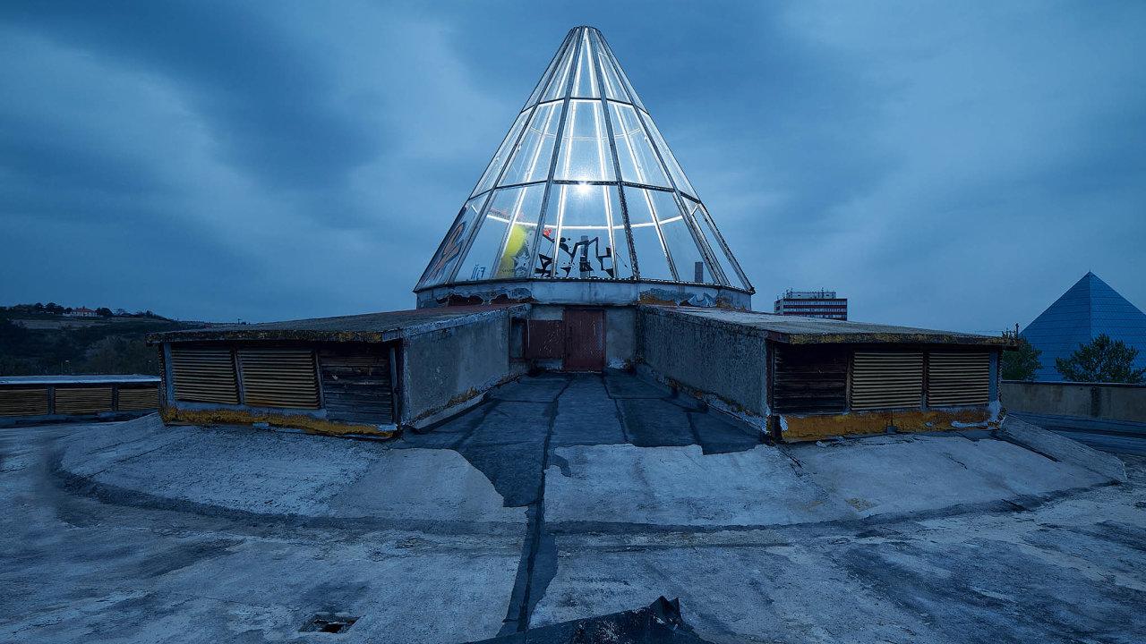 Divadlo Spirála na pražském Výstavišti, které právě prochází nákladnou rekonstrukcí zhruba za 153 milionů korun.