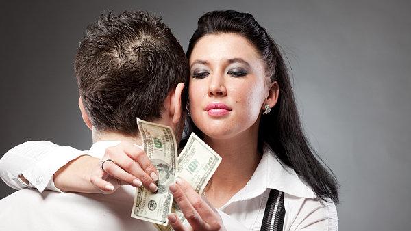 Manažerka a peníze