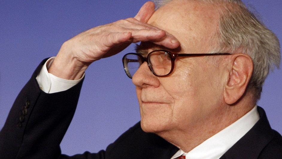 Americký investor Warren Buffett
