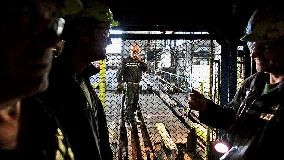 Jádro produkce společnosti NWR zajišťují její ostravské a karvinské doly (na snímku).