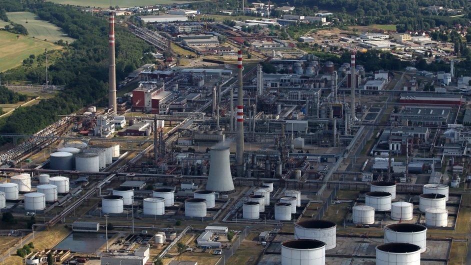 Rafinerie v Kralupech nad Vltavou