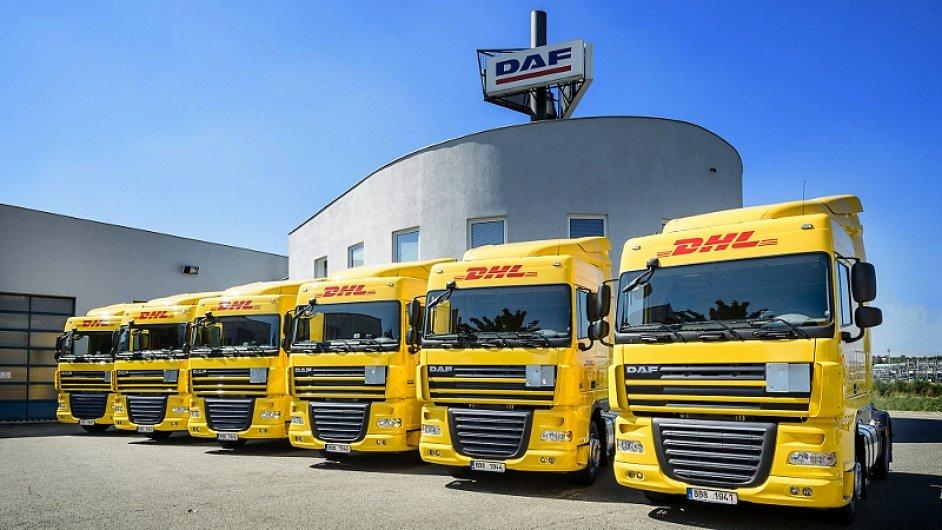 DHL Supply Chain rozšířila svůj vozový park o šest nových tahačů DAF s návěsy