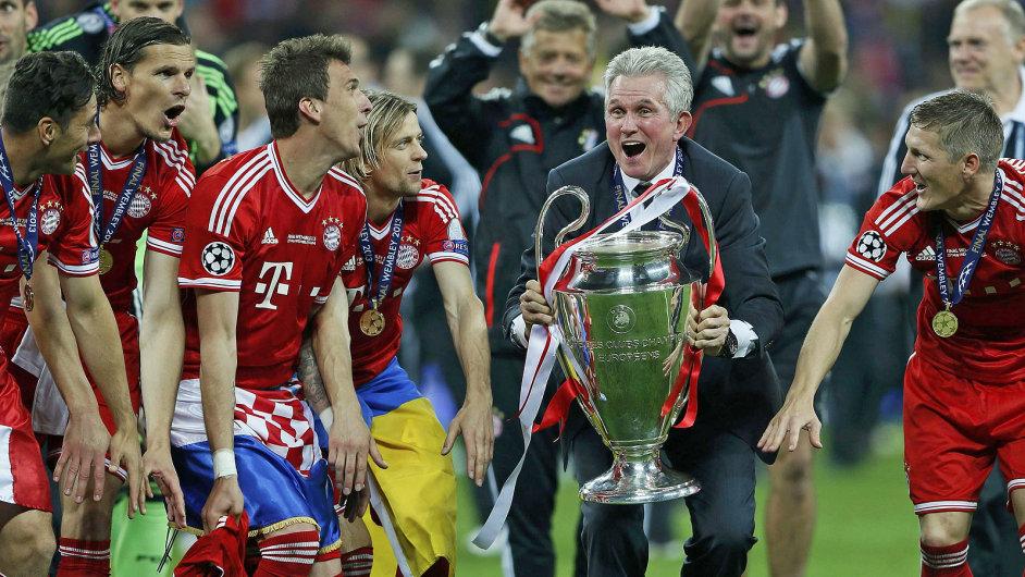 Bayern slaví vítězství v Lize mistrů 2013