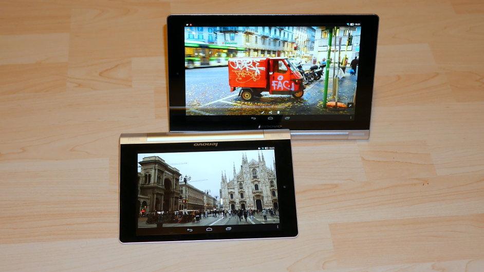 Lenovo Yoga Tablet 10 a Yoga Tablet 8