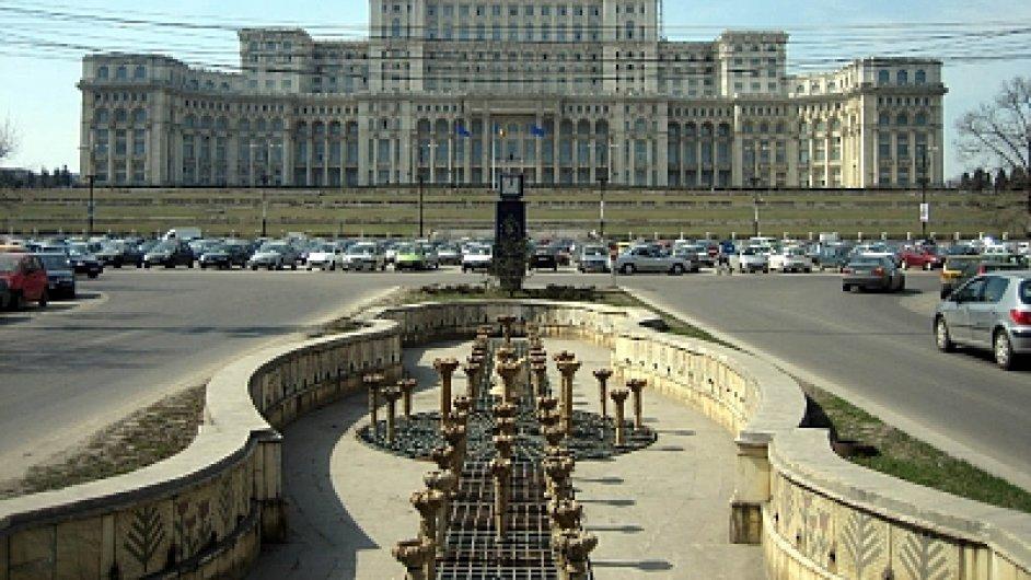 Rumunský parlament.