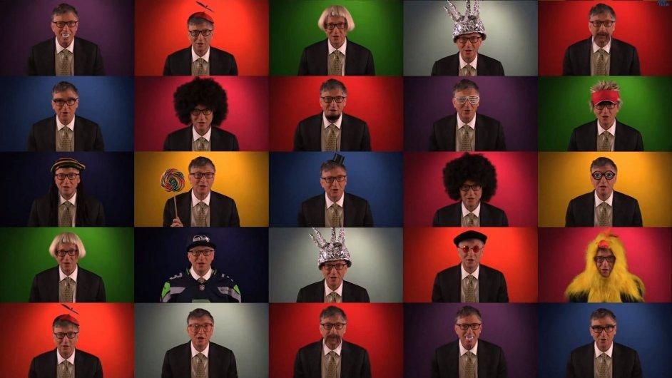 Bill Gates ve svém virálním videu