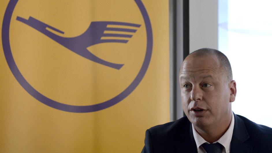 Generální ředitel Lufthansy pro střední Evropu Ofer Kisch