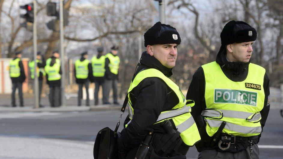 Na místě zasahuje policie, ilustrační foto